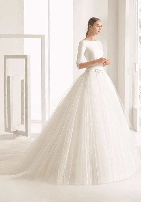 Rosa clar nekane wedding dress the knot for Website for wedding dresses