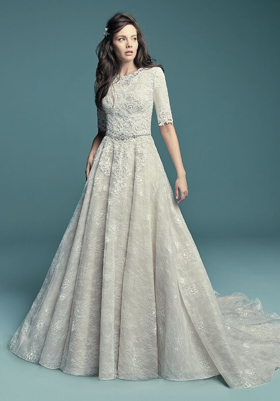 Maggie Sottero Annabella Marie A-Line Wedding Dress