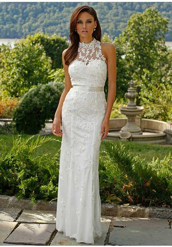 Jovani Bridal JB92988 Sheath Wedding Dress