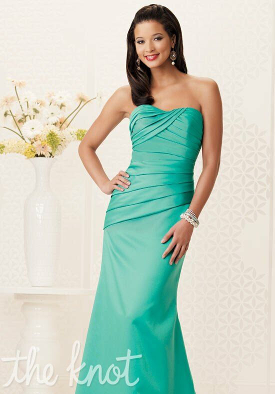 Jordan 954 Strapless Bridesmaid Dress
