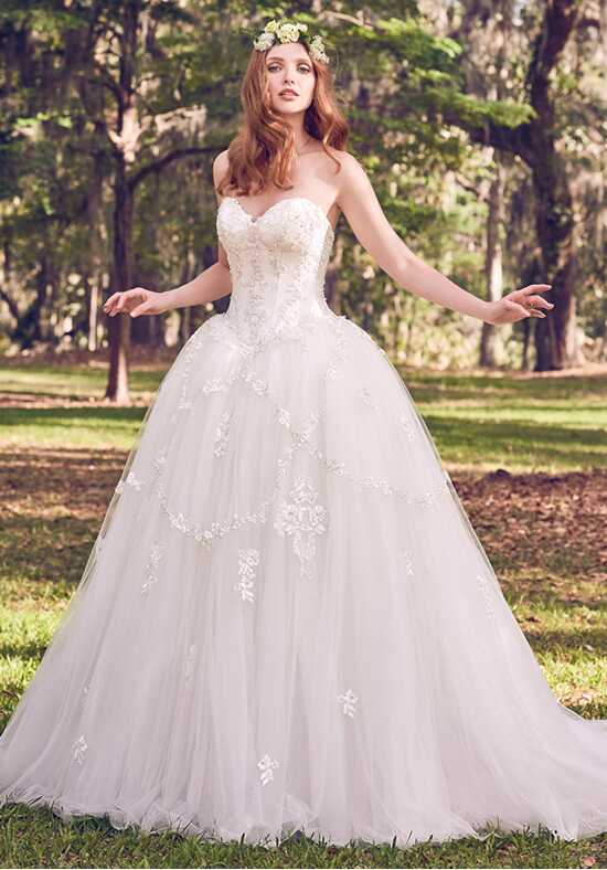 Maggie Sottero Benton Marie Ball Gown Wedding Dress