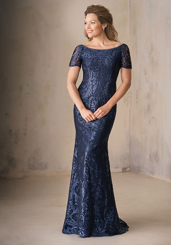 Jade Couture K208009 Blue Mother Of The Bride Dress