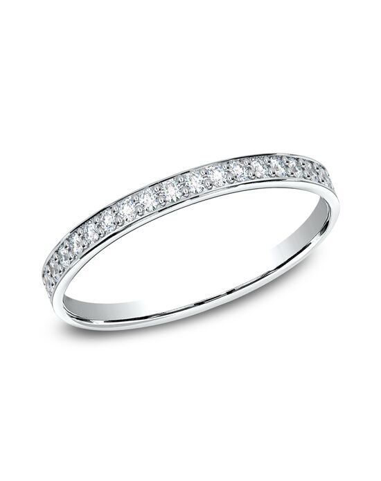 Benchmark 522800HFW White Gold Wedding Ring