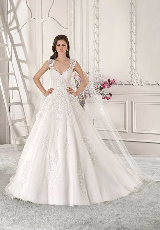 Demetrios 871 Ball Gown Wedding Dress