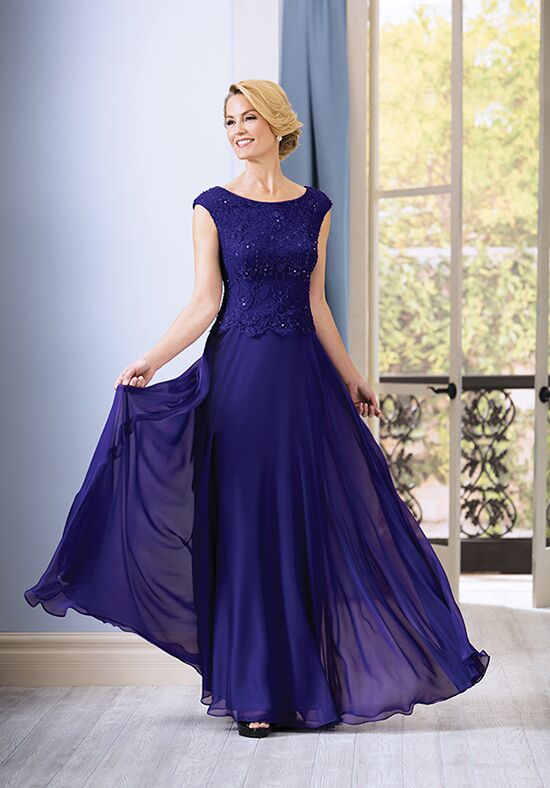 Jade J185062 Purple Mother Of The Bride Dress