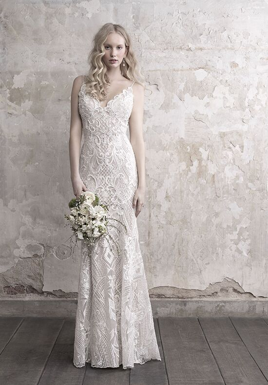 Madison James MJ455 Sheath Wedding Dress