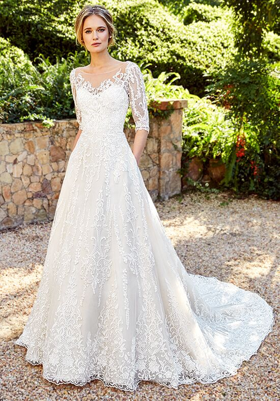 Moonlight Couture H1356B A-Line Wedding Dress