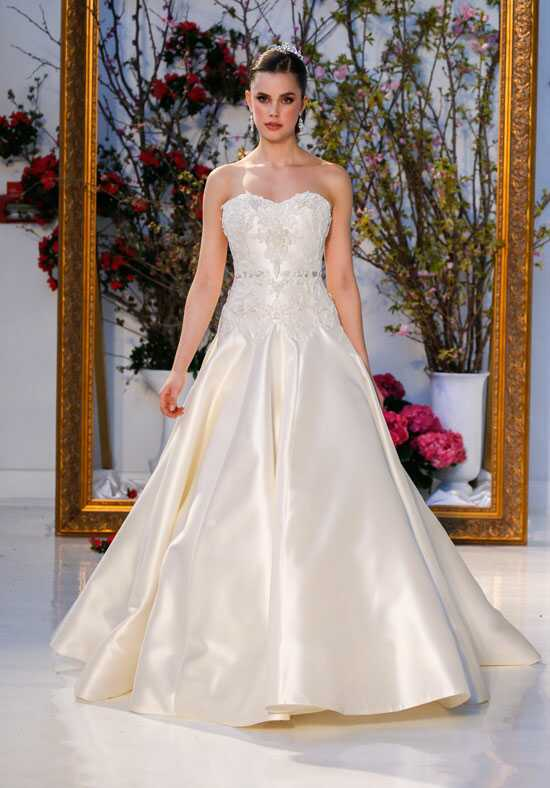 Anne Barge Blossom Ball Gown Wedding Dress
