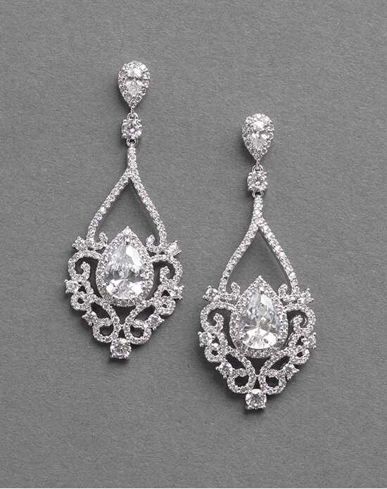 Dareth Colburn Charlese CZ Earrings Wedding Earring photo