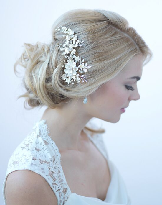 best haircuts for hair usabride ivory amp gold floral clip tc 2274 g wedding hair 1688