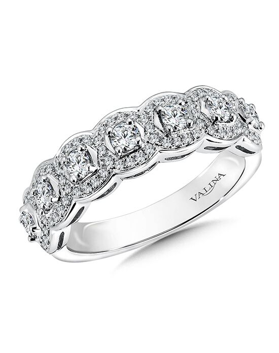 Valina R9509BW White Gold Wedding Ring