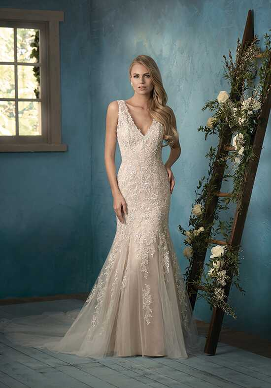 Jasmine Collection F191052 Mermaid Wedding Dress