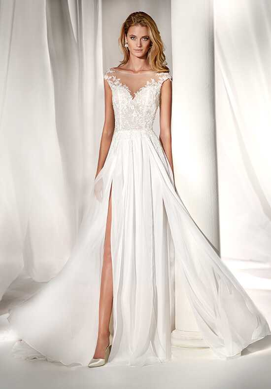Nicole Milano 2019 Collection NIAB19002 Sheath Wedding Dress