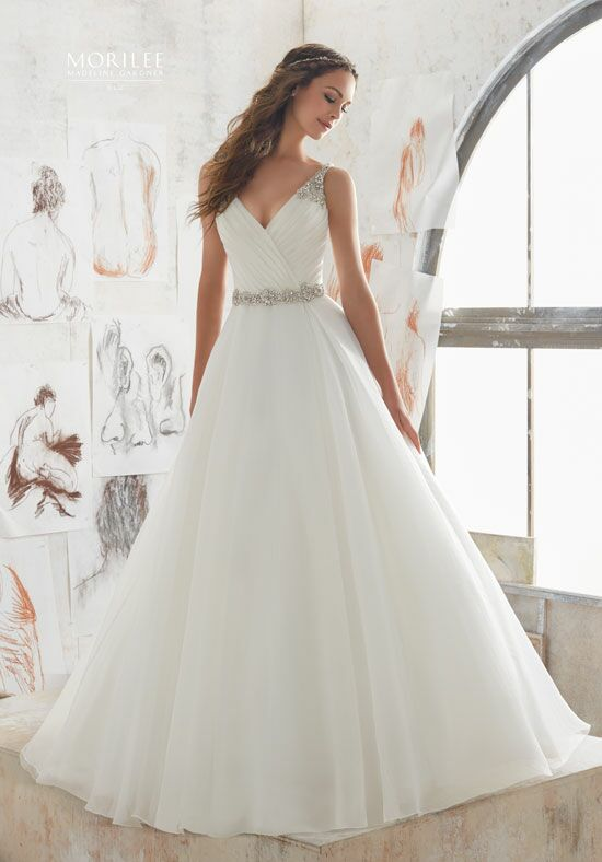 Morilee by Madeline Gardner/Blu 5507 Ball Gown Wedding Dress
