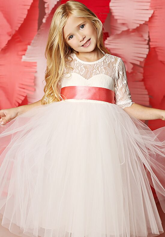 FATTIEPIE Isabelle Ivory Flower Girl Dress