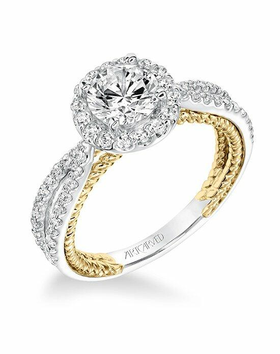 ArtCarved 31-V655ERA-E Engagement Ring photo