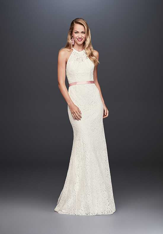 David's Bridal David's Bridal Style WG3883 Sheath Wedding Dress