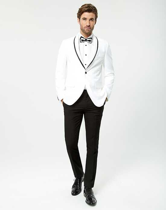 White Wedding Tuxedos + Suits