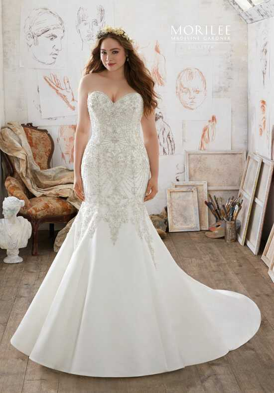 Morilee by Madeline Gardner/Julietta 3218 Mermaid Wedding Dress