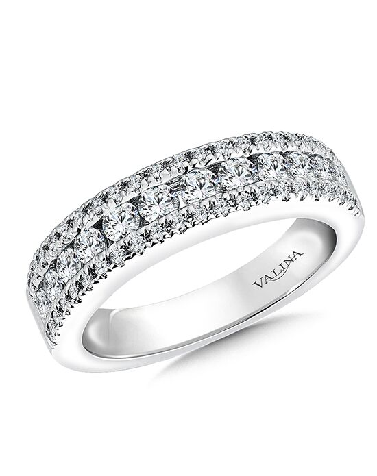 Valina R9481BW White Gold Wedding Ring
