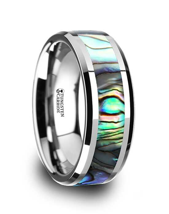 Mens Tungsten Wedding Bands W759-TMOP Tungsten Wedding Ring