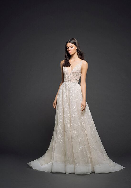 Lazaro 3805 A-Line Wedding Dress