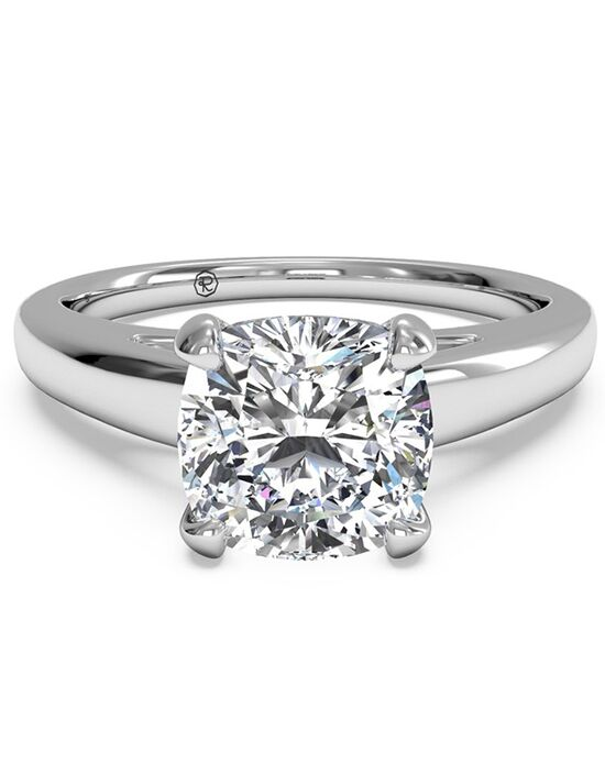 Ritani Classic Cushion Cut Engagement Ring