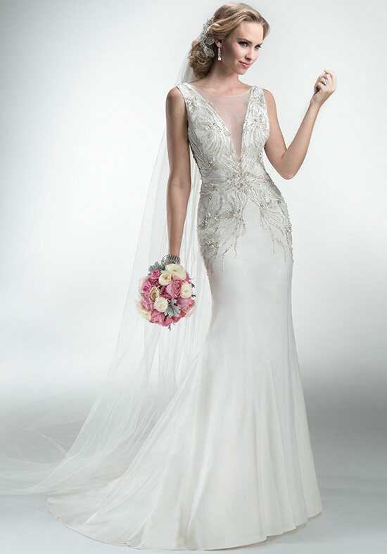 Maggie Sottero Fabienne A-Line Wedding Dress
