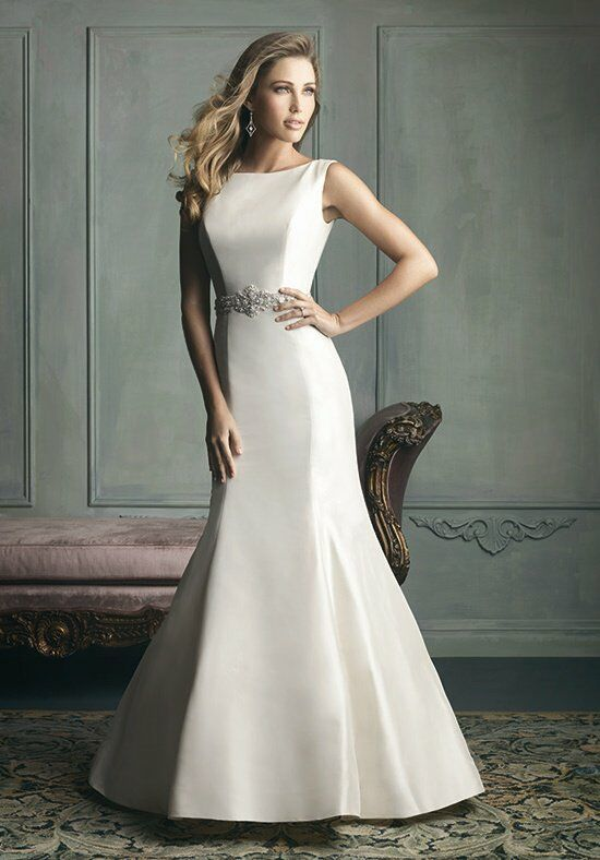 Allure Bridals 9106 A-Line Wedding Dress
