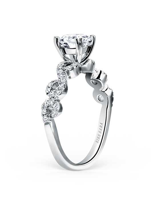 Kirk Kara Pirouetta Collection K182R Engagement Ring photo