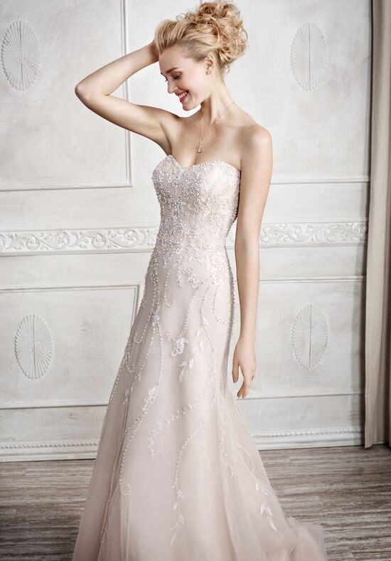 Kenneth Winston 1681 Sheath Wedding Dress
