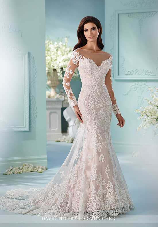 David Tutera for Mon Cheri 216239 Maisie Mermaid Wedding Dress