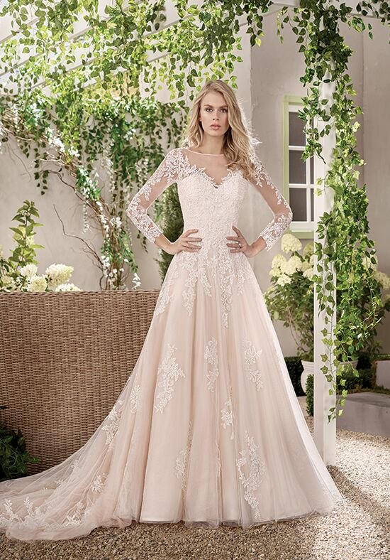 Jasmine collection f191012 wedding dress the knot jasmine collection f191012 a line wedding dress junglespirit Gallery