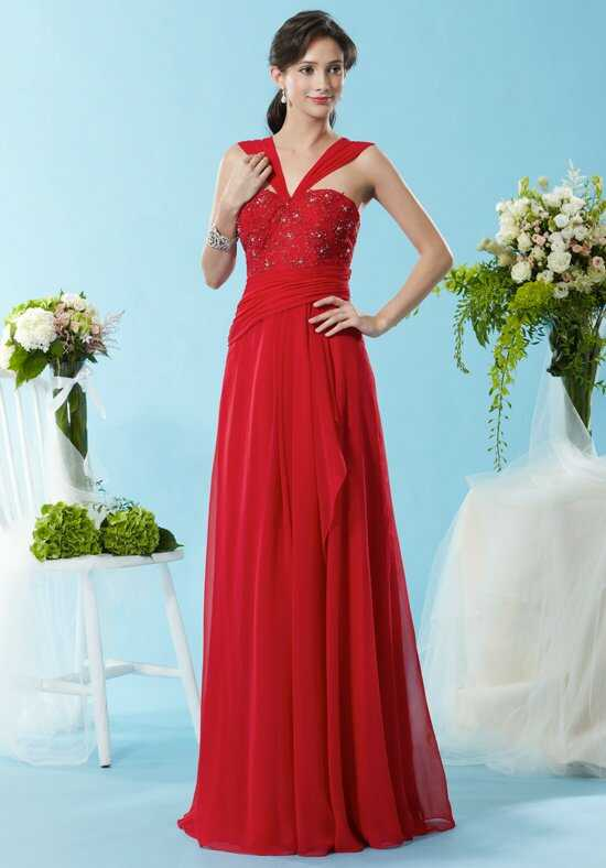 Eden Social Occassion 4088 Red Mother Of The Bride Dress