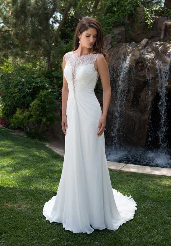 Pallas Athena PA9278 A-Line Wedding Dress