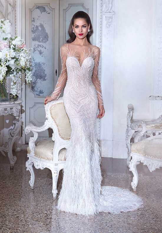 Platinum by Demetrios DP398 - Roxanne Sheath Wedding Dress