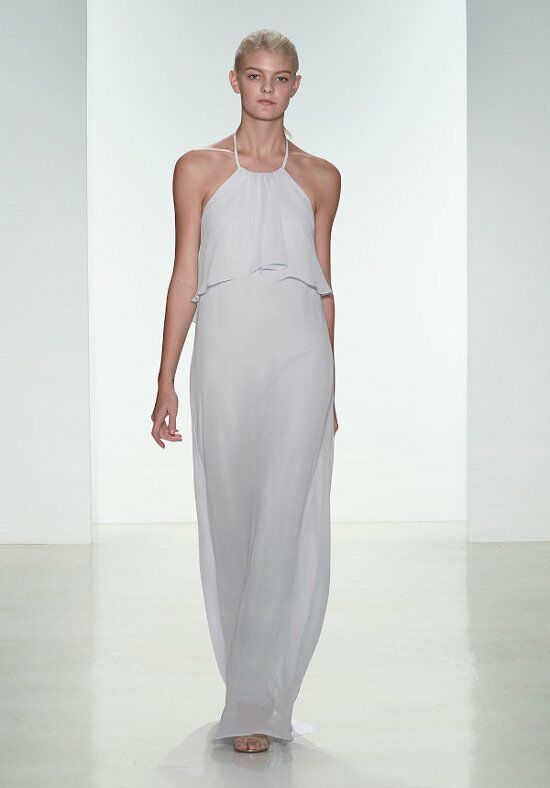 Nouvelle Amsale Bridesmaids N305 Halter Bridesmaid Dress
