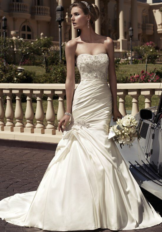 Casablanca Bridal 2104 Mermaid Wedding Dress