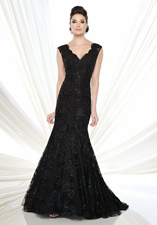 Ivonne D. 215D08 Black Mother Of The Bride Dress