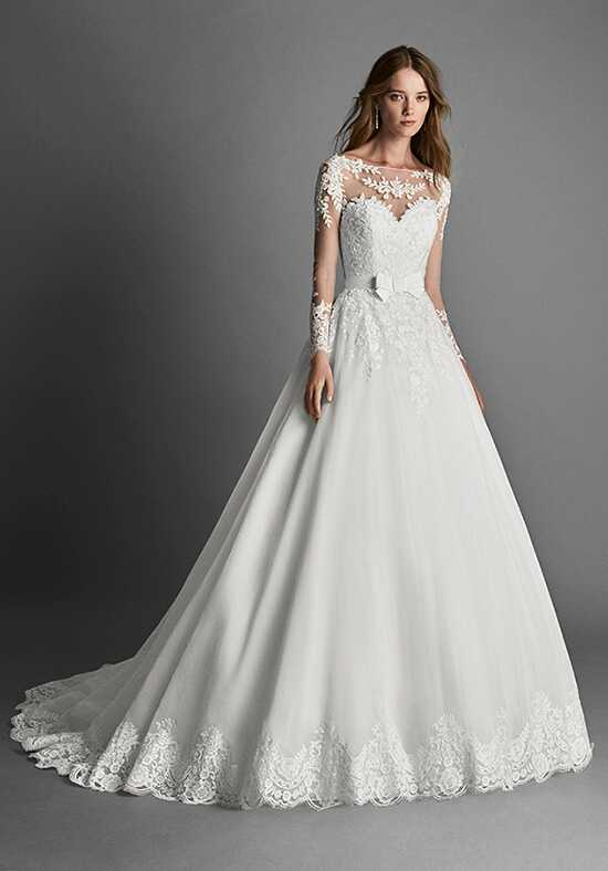 Ball gown wedding dresses alma novia junglespirit Image collections
