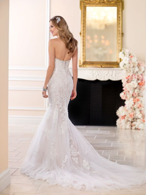 Stella York 6502 Mermaid Wedding Dress