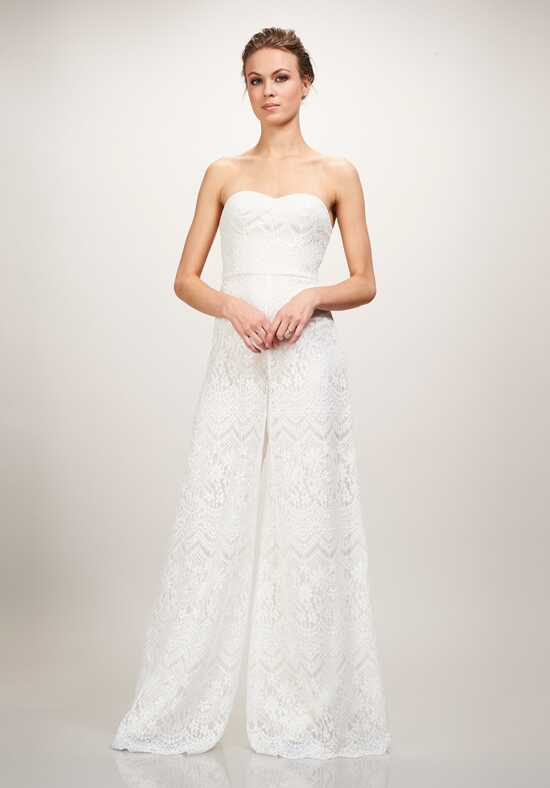 THEIA Skyler Sheath Wedding Dress