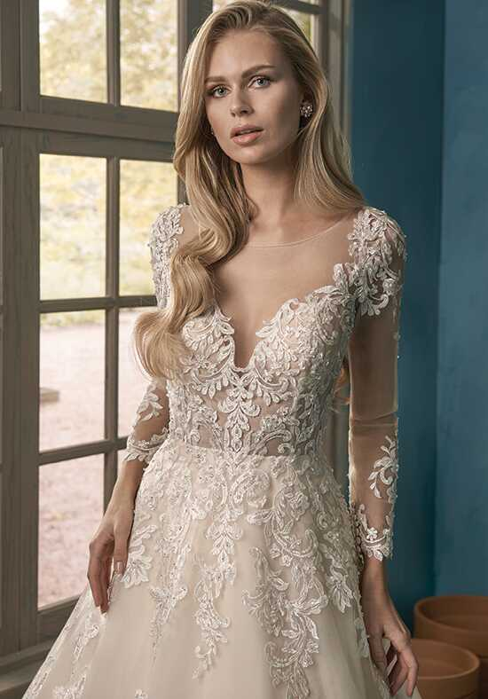 Jasmine Collection F191064 A-Line Wedding Dress