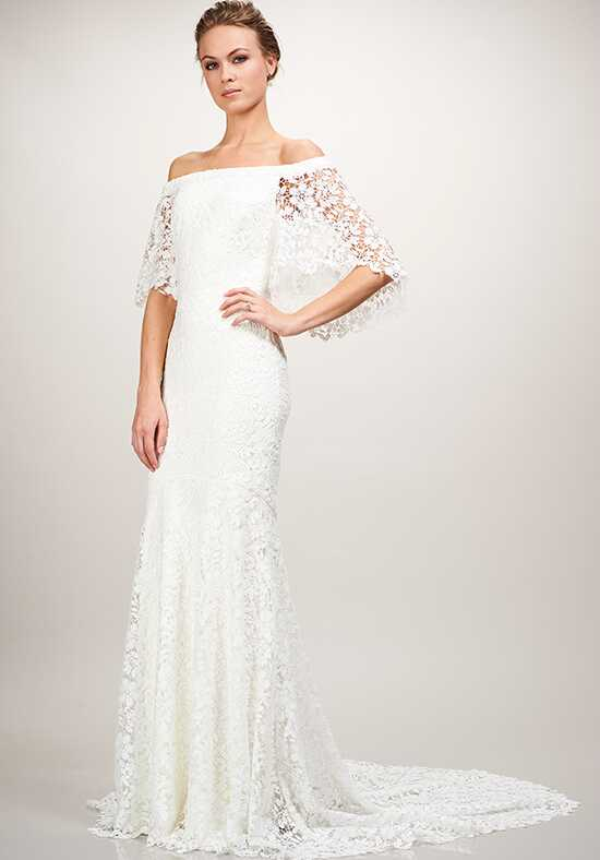 THEIA Sasha A-Line Wedding Dress