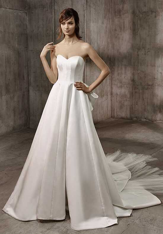 Badgley Mischka Belle Alice A-Line Wedding Dress