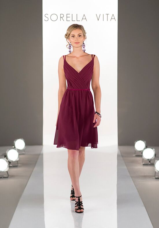 Sorella Vita 8613 V-Neck Bridesmaid Dress