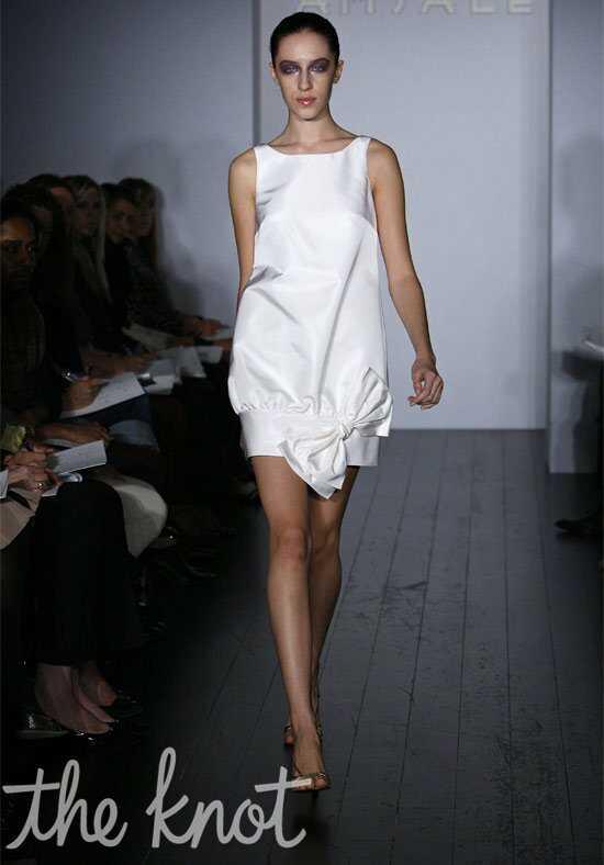 amsale presents little white dress
