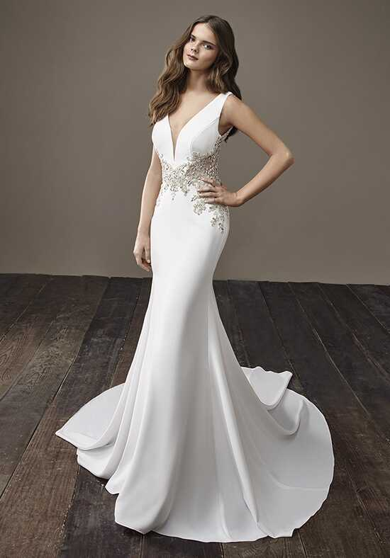 Badgley Mischka Bride Beyonce Mermaid Wedding Dress