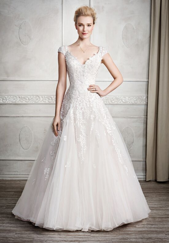 Kenneth Winston 1679 Sheath Wedding Dress