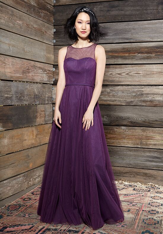 Ivy & Aster Bridesmaids Cora Illusion Bridesmaid Dress